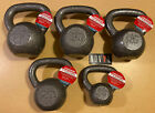 Weider Cast Iron Kettlebell 10, 15, 20, 25, 30 & 35 lb Single (Choose Weight)