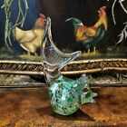 Vintage Murano Art Glass Modern Retro Chicken Hen Glass Sculpture