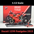 TSM 112 Scale Ducati 1299 Panigales 2015 Motorcycle Diecast Model Limited Gift