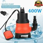 400W Electric Submersible Water Pump Swimming Pool Dirty Flood Sump Pump