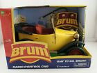 Vintage Brum RC Car Yellow Roadster With Remote Radio Shack New In Box