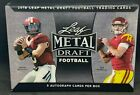 2018 Leaf Metal Draft Football Hobby Box Factory Sealed - Mayfield? Allen?