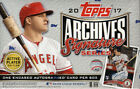 2017 TOPPS ARCHIVES SIGNATURES SERIES ACTIVE PLAYER ED BASEBALL HOBBY BOX NEW
