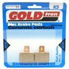 Rear Disc Brake Pads for Gas Gas EC50 Boy (L/C) 2005 50cc (LC) By GOLDfren