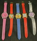 Womens Mixed Watch Lot of 5 MURANO Glas,Manhattan,Le Montre, One in a million ..
