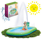 Inflatable Sprinkler Pool Water Park for Kids Toddlers Swimming Outdoor 3 in 1