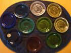LOT OF 10 PAIRPOINT GLASS 3 1 2 CUP PLATES THORNTON BURGESS CHARACTERS