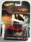 Hot wheels 2014 Retro Entertainment Series Need For Speed Koenigsegg Agera R