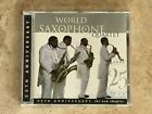 World Saxophone Quartet - 25th Anniversary The New Chapter / Justin Time 1CD