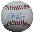 Jim Thome Autographed Signed Chicago White Sox OML Baseball HOF BAS 25720