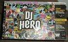 PS3 DJ Hero Turntable Kit Complete with Game New Open Box Sony PlayStation 3