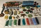 Jewelry Making Lot with Swarovski Stones Glass and more New and Used