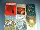 VINTAGE NANCY DREW LOT THE SECRET OF MIRROR BAY + 7 1st Ed  SCARCE EX COND
