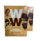 Weight Watchers Chocolate Peanut Butter Pie Bar 12 Count Box Lot Of 2 Boxes