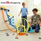 Hot Wheels 4FT Car Track Builder Vertical Launch Kit W 3 Configurations for 6+