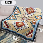 Native American Tribal Throw Blanket Bedspread Indian Tapestry Carpet Table Clot