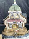 David Winter Cottages Barnacle Theatre W/dock Seaside Boardwalk Chipped No Box