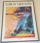 LEROY NEIMAN The Swing GEORGE BRETT Print Signed Autographed Framed 30