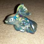 Fenton Koi Fish Favrene Hand Painted by Carol Griffiths