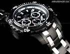 NEW Invicta Men 52mm SCUBA PRODIVER Chronograph BLACK DIAL Stainless Steel Watch