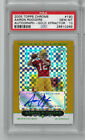 2005 Topps Chrome Gold Xfractor Auto 190 Aaron Rodgers PSA 10 Gem Mint RC