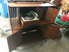 Vintage GE Stereo Console RC 3330 Record Player Mid Century MCM turntable