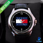 SPECIAL Offer! T0mmy Hilfiger Big logo Sport Metal Watches Mens Wristwatch *NEW*