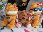 Ty Beanie Baby  2 GARFIELDS with POOKIE Retired and Rare w/Tags!
