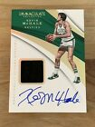 Kevin McHale 2017-18 Panini Immaculate Sneaker Swatch Autograph # 4 5 Celtics