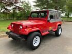 1989 Jeep Wrangler Islander 1989 Jeep Wrangler Islander 164407 Miles, 164407 Miles Red SUV I6 4.2L Manual