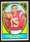 1967 Topps Football Cards 11