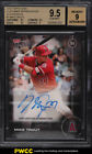 2016 Topps Now Customer Appreciation Mike Trout AUTO 25 #7 BGS 9.5 GEM MINT