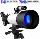 Telescope for Kids Beginners  70mm Aperture 400mm AZ Mount  Tripod