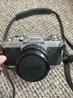 Canon av1, 35mm camera, complete with cannon fd 50mm lens