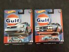 Hot Wheels Gulf Volkswagen And Nissan Lot Of 2