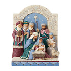 Jim Shore 6006598 Unto Us A King Is Born Victorian Nativity 2020 NEW Christmas