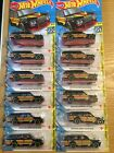 2020 Hot Wheels ID SCREEN TIME BACK TO THE FUTURE TIME MACHINE BTTF Lot Of 2