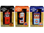 Vintage Gas Pump Set of 3 Pumps Series 7 1 18 Diecast Models by Greenlight
