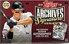 2018 Topps Archives Signature Series Active Player Edition Sealed Hobby Box