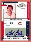 2004 PLAYOFF ABSOLUTE MEMORABILIA ABSOLUTELY INK BOB FELLER AUTO 059 100!!