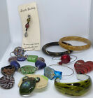 murano glass Bracelets Rings Plus Glass Bangles One Heart Paper Weight