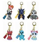 NEW 2020 TY Beanie Boos Mini Boo Metal Key Clip Collectible Toy Figurine MWMTs
