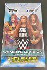 2019 Topps WWE Women's Division Factory Sealed HOBBY Box 2 HITS 1 AUTO