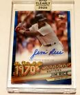 2020 Topps Clearly Authentic Baseball Cards 36