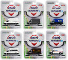 ROUTE RUNNERS SERIES 1 SET OF 6 VANS 1 64 DIECAST MODELS BY GREENLIGHT 53010