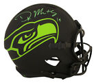 DK Metcalf Autographed Signed Seattle Seahawks F S Eclipse Helmet BAS 28412