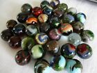 35 OF MY BEST Vintage JABO Art Glass TOY MARBLES Eagles Firefox +++