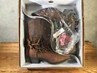 DINGO COWBOY BOOTS WOMENS FRINGE BROWN LEATHER SIZE 9 M NEW WITH BOX BIKER