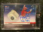 2019 Topps Now Albert Pujols Auto Relic 204A 21 49 Angels Game Used Base