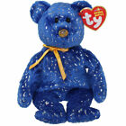 TY Beanie Baby - DISCOVER the Blue Bear (Northwestern Mutual Excl) (8.5 inch)